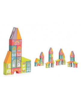 "Wooden toy ""Fairy town"" LKM-1"