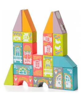"Wooden toy ""Fairy town"" LKM-2"