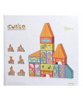 "Wooden toy ""Fairy-tale city"" LKM-6"
