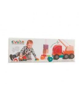 """Wooden toy """"Crane truck"""""""
