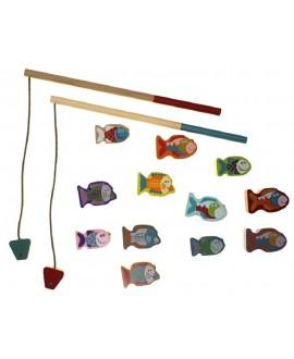Дерев'яна магнітна іграшка Риболовля