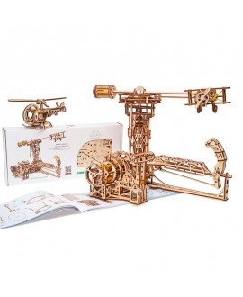 """Wooden 3D puzzle """"Aviator"""""""