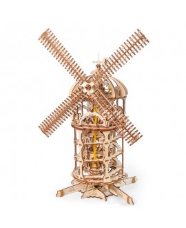 """Wooden 3D puzzle """"Tower Windmill"""""""