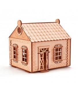 """Дерев'яний 3D пазл """"Сільський будиночок"""""""