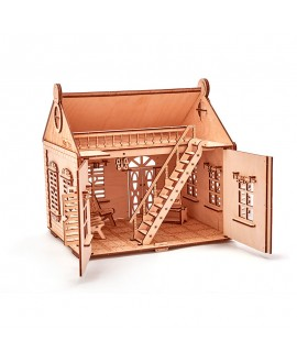 "Wooden 3D puzzle ""Country house"""