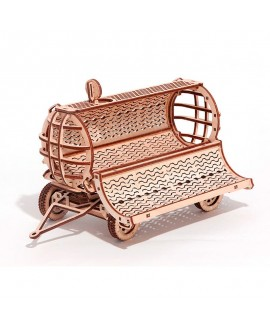 "Wooden 3D puzzle ""Tractor trailer"""