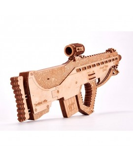 """Wooden 3D puzzle """"Assault Rifle USG-2"""""""