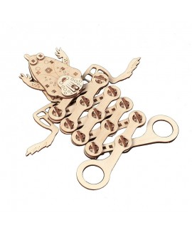 """Wooden 3D puzzle """"Frog"""""""