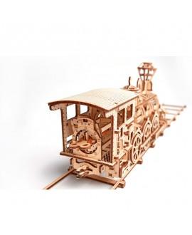 """Wooden 3D puzzle """"Locomotive R17"""""""