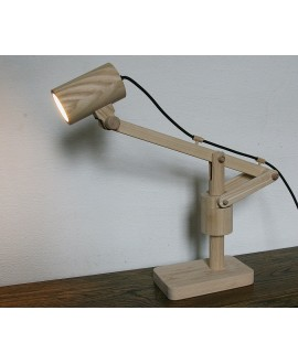 "Wooden lamp ""Catapult"""