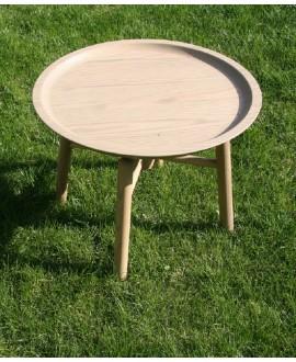 Дерев'яний стіл-таця
