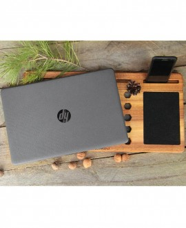 Wood organizer for laptop