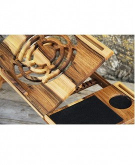 "Wooden laptop ""iDesk"""