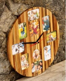 Годинник з фотографіями
