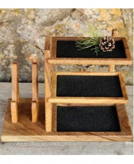 Дерев'яний органайзер для аксесуарів