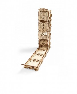 "Wooden 3D puzzle ""Mechanical Dice Tower"""