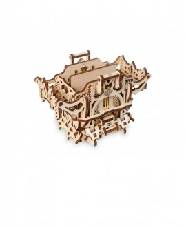 "Wooden 3D puzzle ""Mechanical Deck Box"""