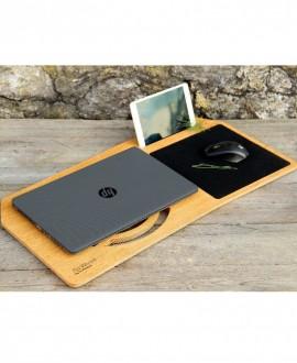 Деревянная подставка для ноутбука «Hover»