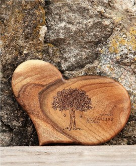 Walnut board «Heart»