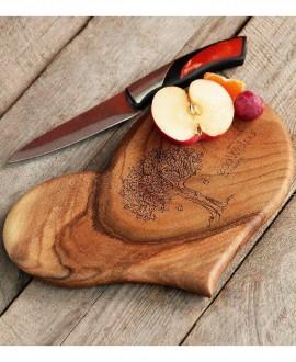 Доска ореховая «Сердце»