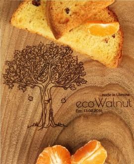 Доска ореховая «Поле»