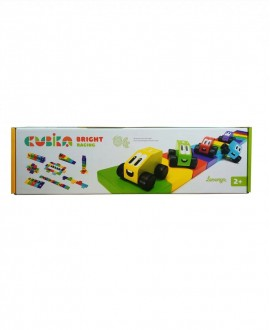 "Wooden constructor ""Colored racing"""