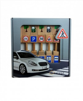 "Game set ""Road Signs"""