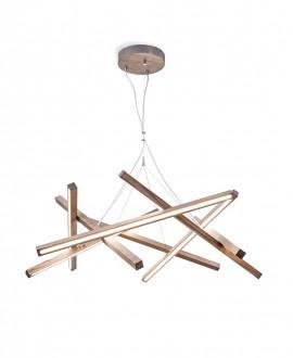 Wooden chandelier Simplicity