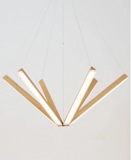 Wooden chandelier STAR TRECK