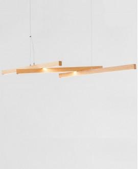 Wooden chandelier Solo