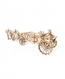 "Wooden 3D puzzle ""Royal carriage"""
