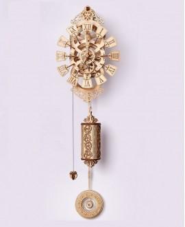 """Wooden 3D puzzle """"Pendulum clock"""""""