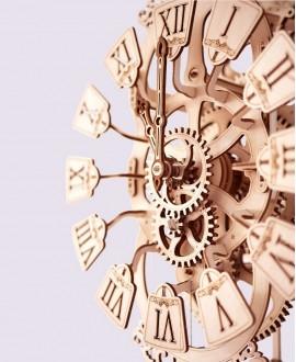 """Дерев'яний 3D пазл """"Маятниковий годинник"""""""