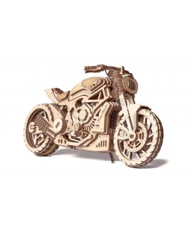 "Wooden 3D puzzle ""Motorcycle DMS"""