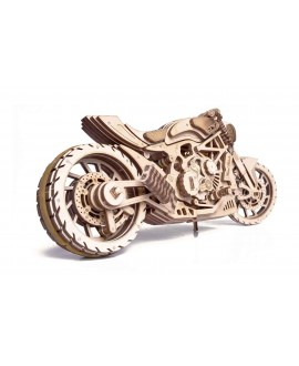 """Дерев'яний 3D пазл """"Мотоцикл DMS"""""""