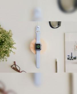 Дерев'яна зарядна станція для Apple Watch
