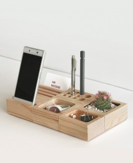 Wooden desk organizer BBCube Big