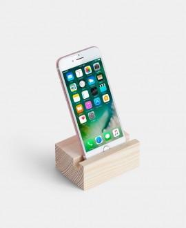 Дерев'яна підставка-тримач для смартфону