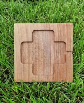 """Wooden organizer """"iStand"""""""