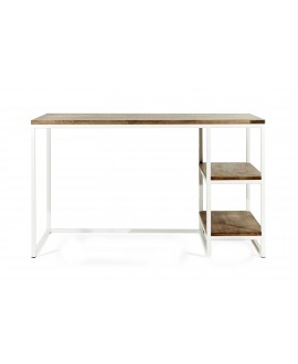Desk with 2 shelves 1200
