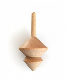 "Wooden spinning tops ""Yuga, Blizzard"""