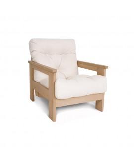 Дерев'яне м'яке крісло MEXICO