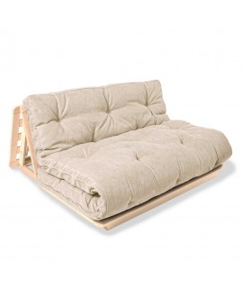 Wooden futon chair LAYTI 140
