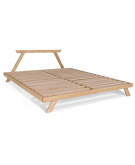 Wooden bed ALLEGRO
