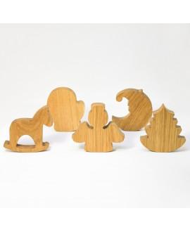 Wooden Spruce Figurine