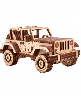 "Wooden 3D puzzle ""Safari Jeep"""