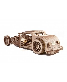 "Wooden 3D puzzle ""Hot Rod"""