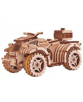"Wooden 3D puzzle ""Quad Bike"""
