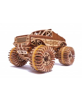 "Wooden 3D puzzle ""Monster Truck"""