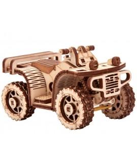 """Дерев'яний 3D пазл """"Квадроцикл ATV"""""""